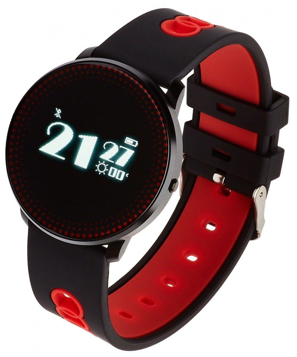 Smartwatch Garett Electronics Sport 14 Czarno-czerwony  (5903246280142) 1