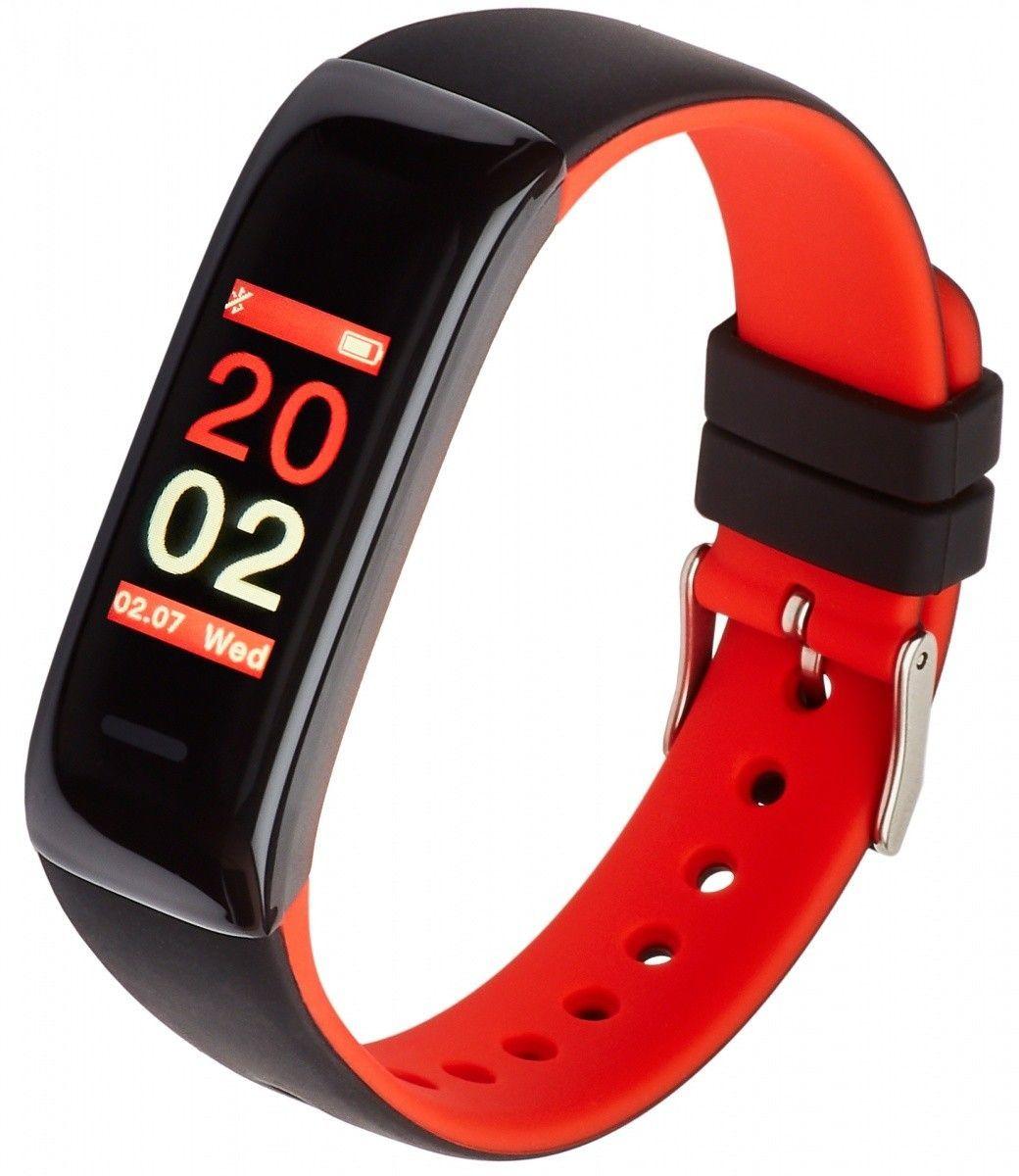 Smartband Garett Electronics Fit 11 Czarny Czerwony 1