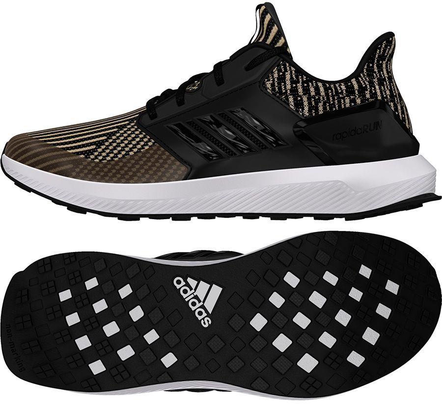 Adidas Buty juniorskie Rapida Run Knit J czarne r. 40 (DB0220) ID produktu: 1809929