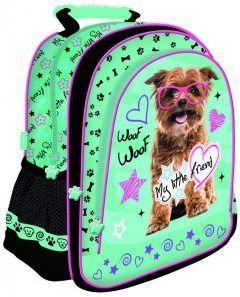 343841e05649a St. Majewski Plecak szkolny My Little Friend Pies zielony (270640) w ...