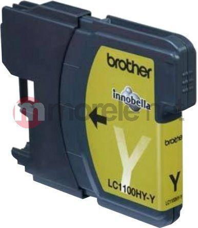 Brother tusz oryginalny LC-1100HYY Yellow 1