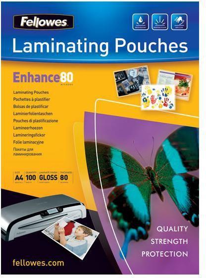 Fellowes Folia laminacyjna A4 2x80mic (5306101) 100szt 1