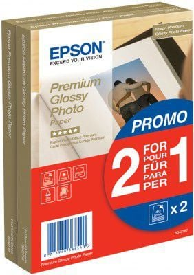 Epson papier Photo Premium Glossy A6 (C13S042167) 2x40 ark 1