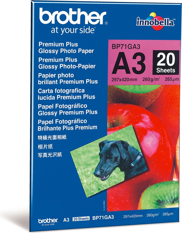 Brother Papier fotograficzny do drukarki A3 (BP71GA3) 1