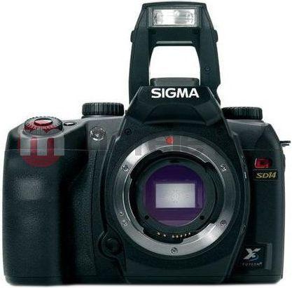 Lustrzanka Sigma SD14 1