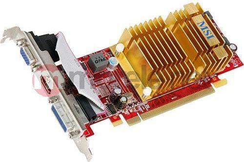Karta graficzna MSI Radeon HD 4350 512MB (R4350-MD512H) ID produktu: 240774