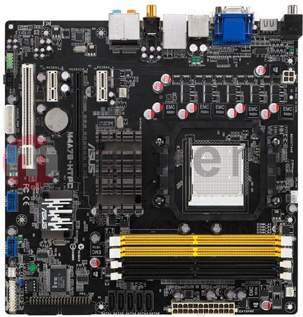 Asus M4A78-HTPC AMD Chipset Treiber Windows 10