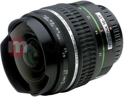 Obiektyw Pentax smc DA 10-17 mm f/3.5-4.5 ED (IF) Fish Eye (21580) 1