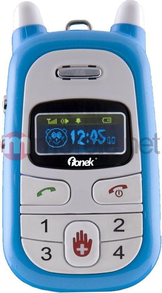 3cb7820468fab Telefon komórkowy Fonek BEZPIECZNY TEL DLA DZIECI Niebieski