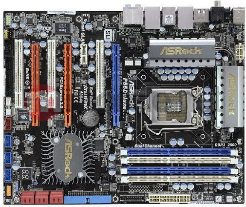 DOWNLOAD DRIVERS: ASROCK P55 DELUXE MOTHERBOARD