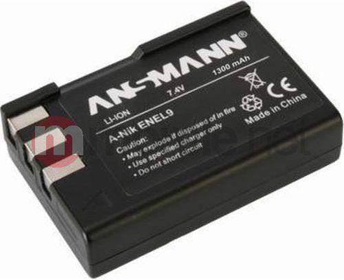 Akumulator Ansmann A-Nik EN EL 9 neue Version 1