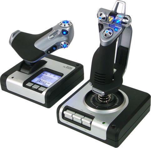 Joystick Logitech [PRODWYC] G Saitek X52 Flight Control System (945-000006) 1