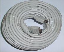 Kabel Assmann D-Sub (VGA) - D-Sub (VGA) 20m biały (AK3820XFIMP) 1