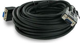 Kabel 4World D-Sub (VGA) - D-Sub (VGA) 10m czarny (6101) 1