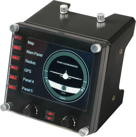 Joystick Logitech G Saitek Pro Flight Instrument Panel (945-000008) 1