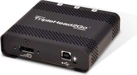 Matrox TripleHead2Go DP Edition (T2G-DP-IF) 1