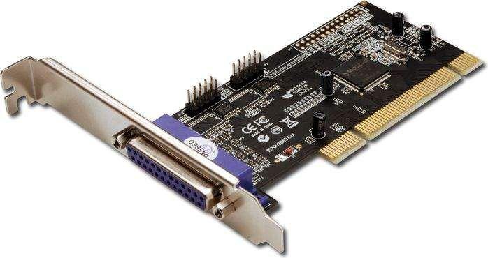 Kontroler Digitus PCI - 2x RS-232 + 1x LPT (DS-33040) 1