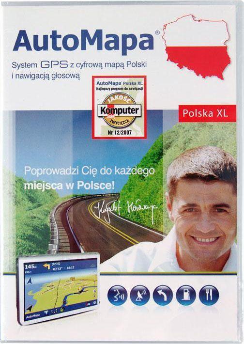 Automapa Automapa Xl Mapa Polski W Morele Net