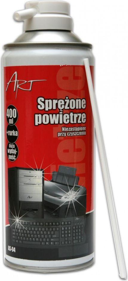 Art Sprężone powietrze do usuwania kurzu 400 ml (AS-04) 1