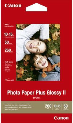 Canon papier Photo Plus Glossy II PP201 A6 (2311B003) 50 ark 1