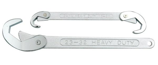 Vorel Zestaw kluczy hakowych 9-32mm 2szt. (54000) 1
