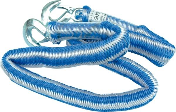 Vorel Linka holownicza elastyczna z hakiem 2,5t 82225 1