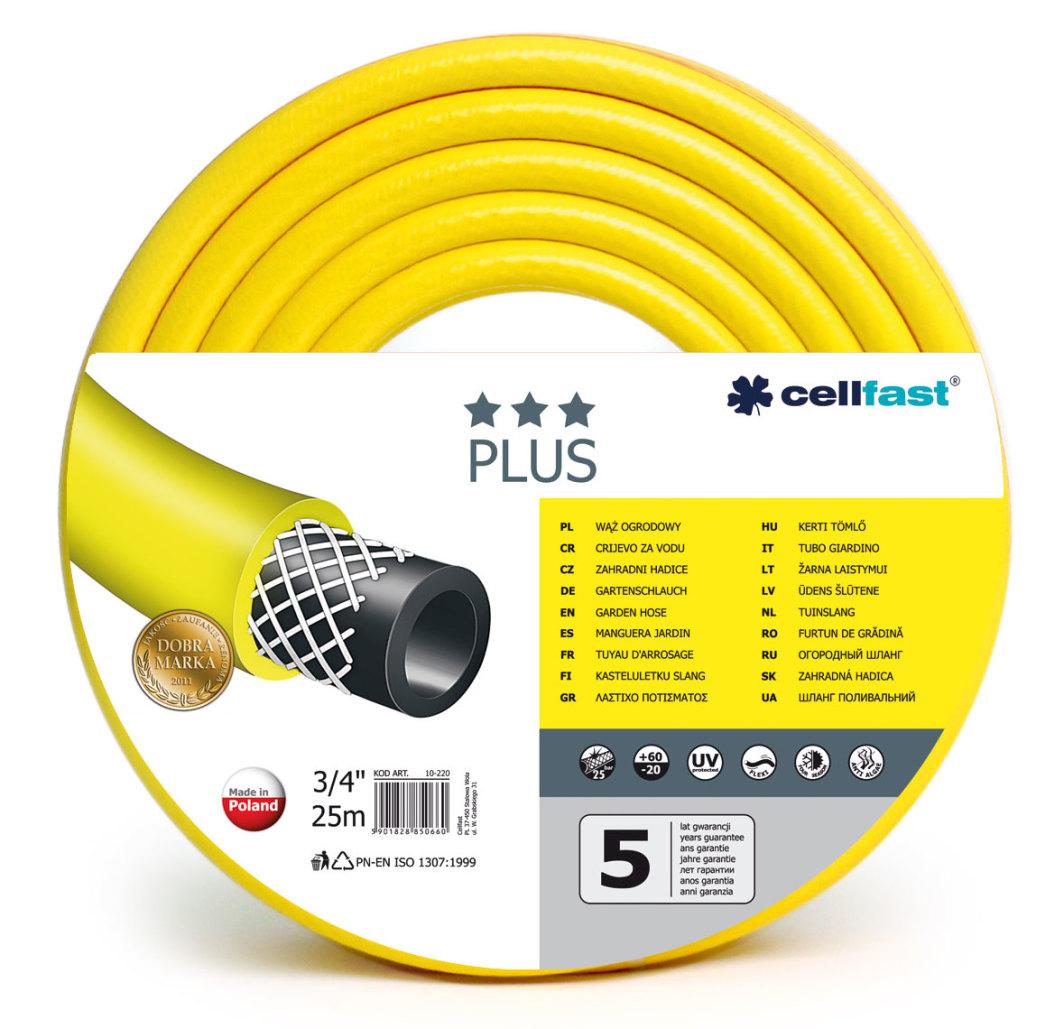 """Cellfast Wąż ogrodowy Plus 3/4"""" 25m (10-220) 1"""