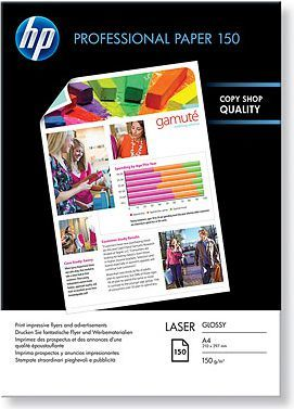 HP Professional Laser Photo Paper, Glossy, A4, 100 st, 150 g/m2 1