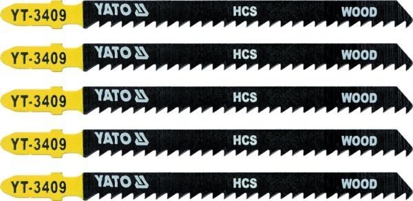 Yato Brzeszczot do wyrzynarki typ T HCS do drewna 5cz. TPI8 YT-3409 1