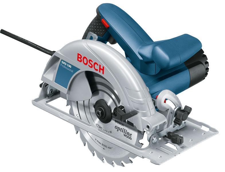 Bosch Pilarka tarczowa GKS 190 Professional (0.601.623.000) 1