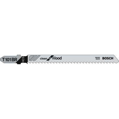 Bosch Brzeszczot do wyrzynarek Clean for Wood 100mm T 101 BR 5szt. (2.608.630.014) 1