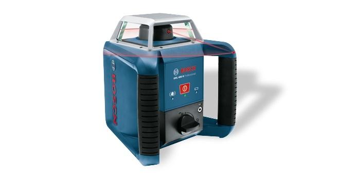 Bosch Niwelator obrotowy GRL 400 H Set + BT 170 HD + GR 240 (0.615.994.03U) 1