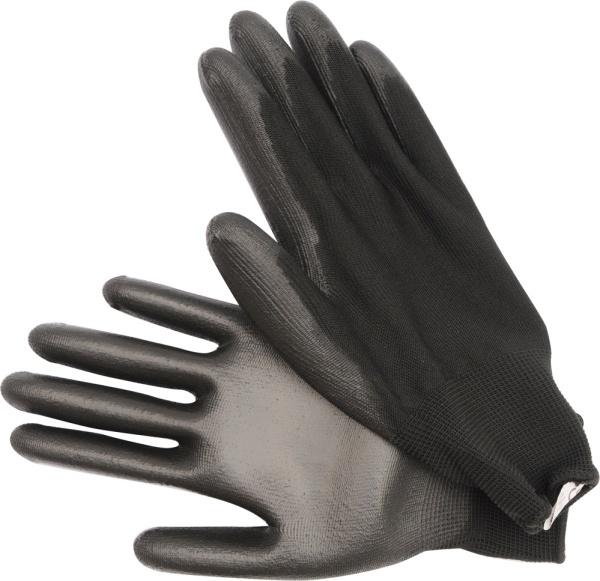 """Vorel Rękawice robocze nylonowe czarne 10"""" (74080) 1"""