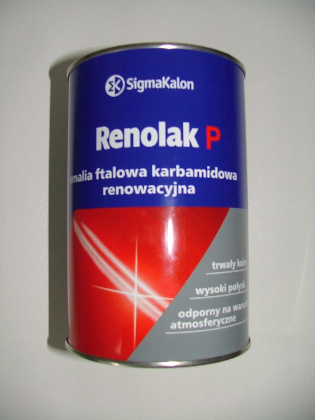 PPG Polifarb Cieszyn Renolak P czerwona corsa F-854 1L 1