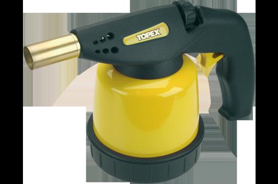 Topex Lampa lutownicza gazowa na naboje 190g zapłonnik (44E141) 1