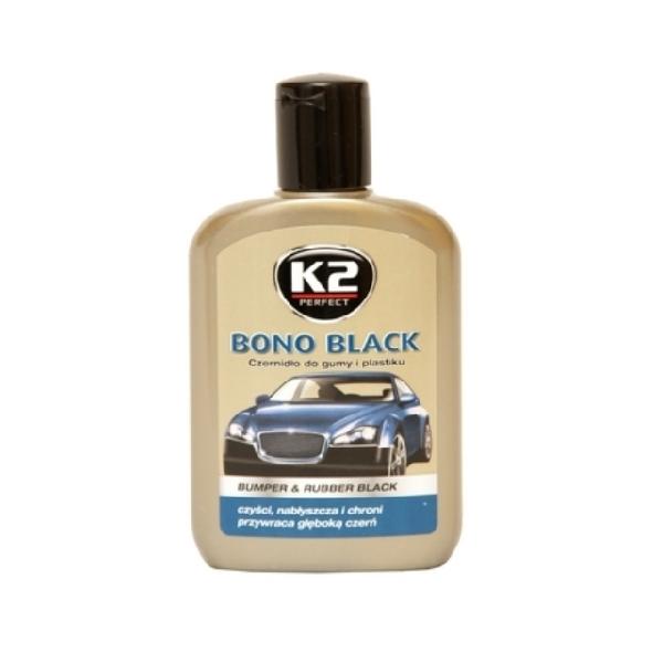 K2 Sport Czernidło do odnawiania gumy i plastików Bono Black 200g (K030) 1