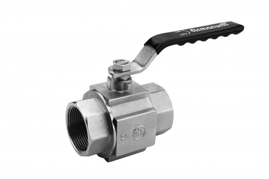 "KFA Zawór kulowy nakrętno-nakrętny Quadro High Pressure 5/4"" wodny (702-130-32) 1"