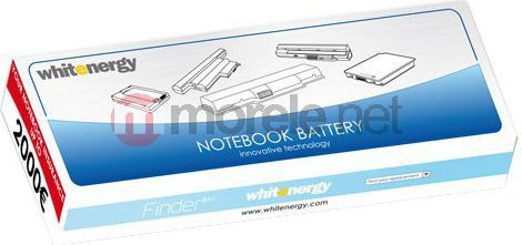 Bateria Whitenergy bateria Acer Aspire One 4400mAh Li-Ion 11.1V biała (06463) 1