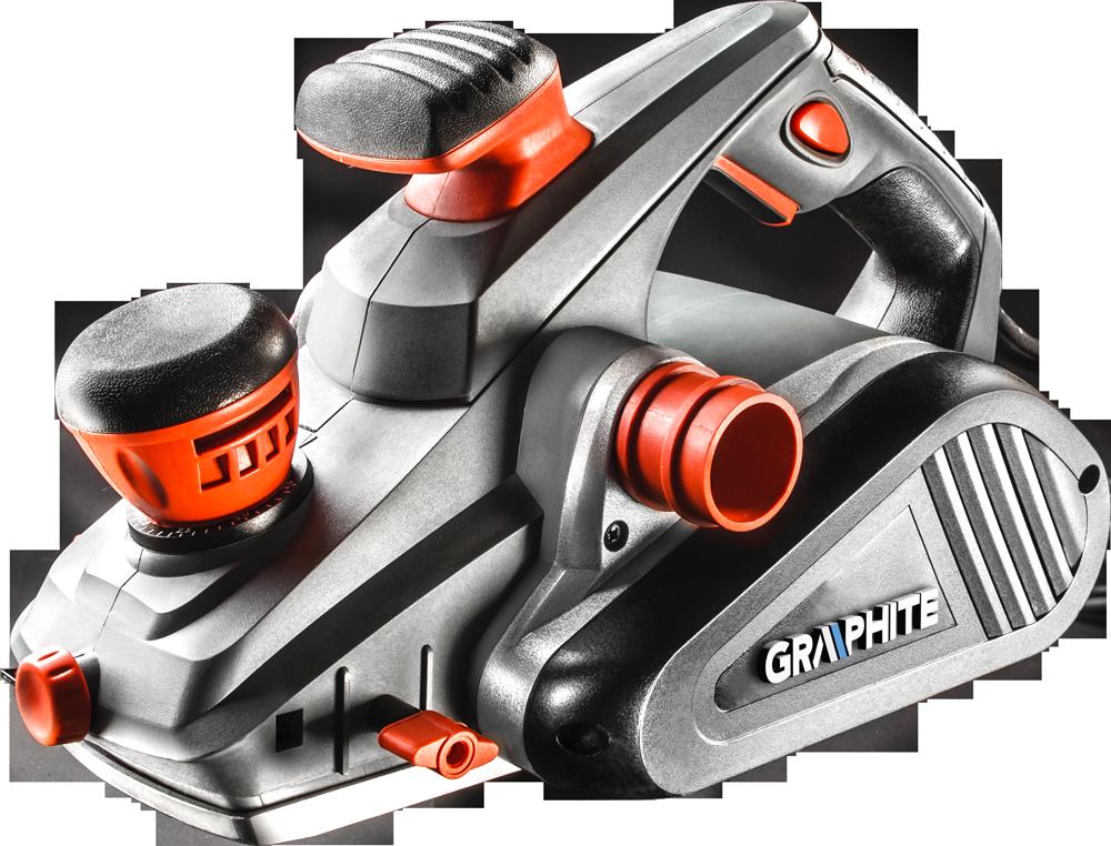Graphite Strug elektryczny 1300W szerokość strugania 110mm (59G680) 1