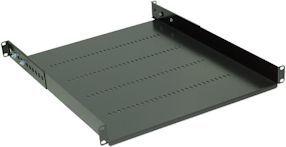 NetRack półka 19'' 1 U/550 mm, wsporniki, grafit (119-100-550-022) 1