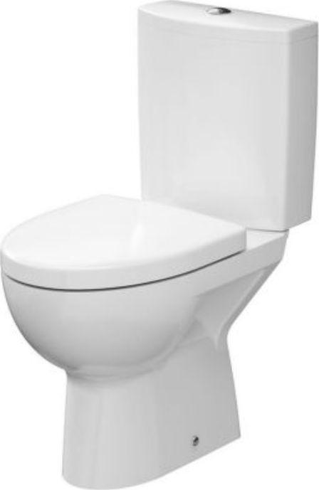 Cersanit Zestaw kompaktowy WC Parva spłuczka + deska woloopadająca (K27-004) 1