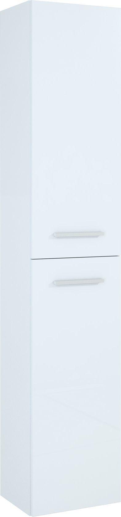 Elita Słupek Kwadro 30cm biały połysk (164590) 1