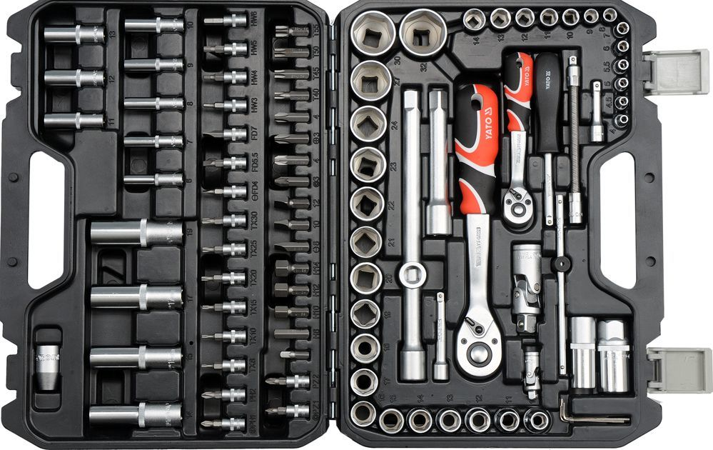 Zestaw narzędzi Yato 94 (YT-12681) 1