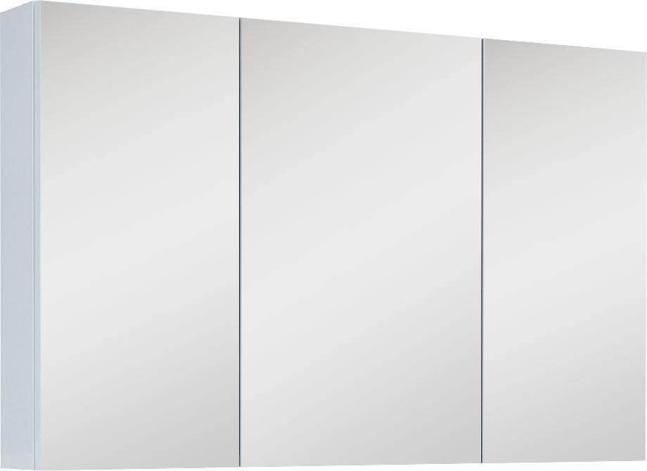 Elita Szafka górna z lustrem 100cm biały połysk (904511) 1
