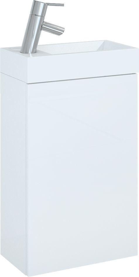 Zestaw umywalka z szafką Elita Young Basic 40cm biały (163068) 1