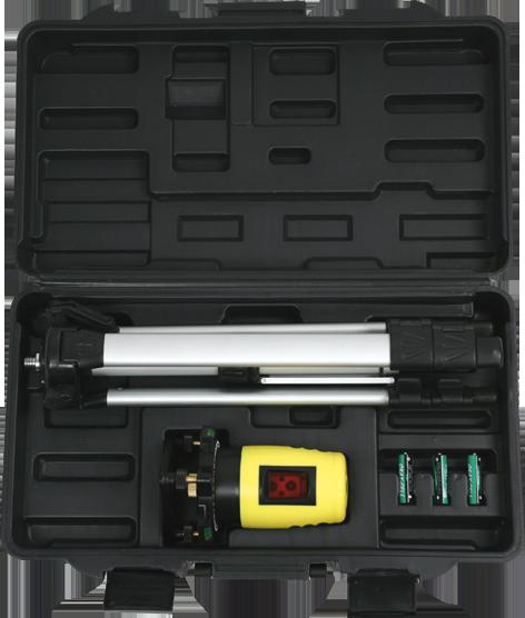 Topex Poziomica laserowa samopoziomująca + statyw (29C909) 1