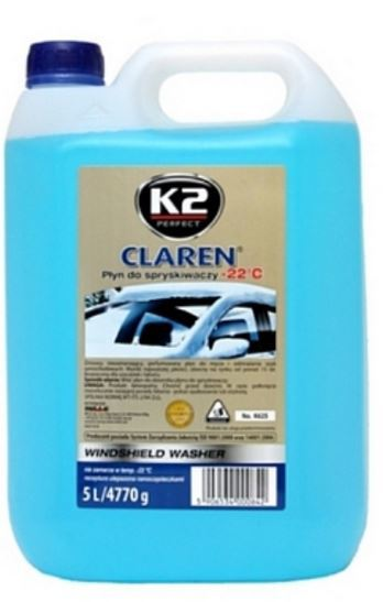 K2 Płyn do spryskiwaczy zimowy -22°C 5L - K625 1