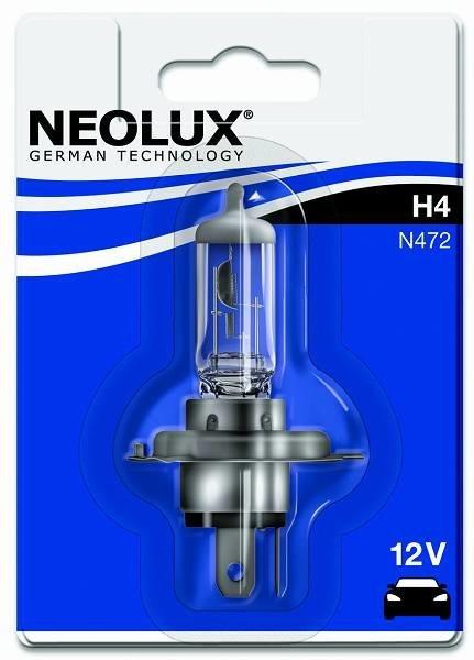 Neolux Żarówka samochodowa H4 Standard P43T 12V 60/55W (4008321771216) 1