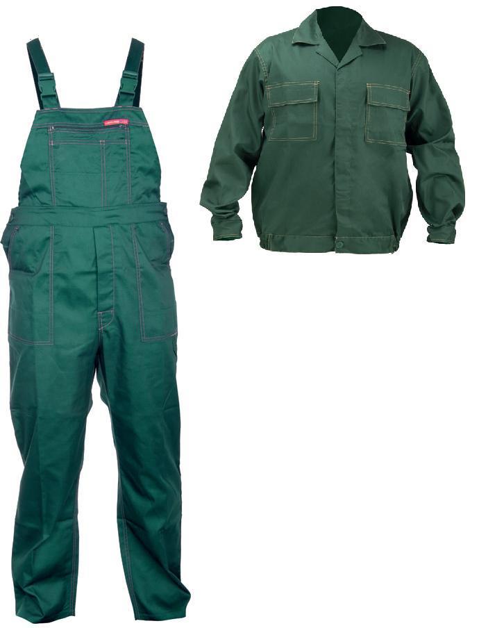 af6c5aa33bb894 Lahti Pro Ubranie robocze bluza i spodnie zielone r.M - LPQA76M w  Budujesz.pl