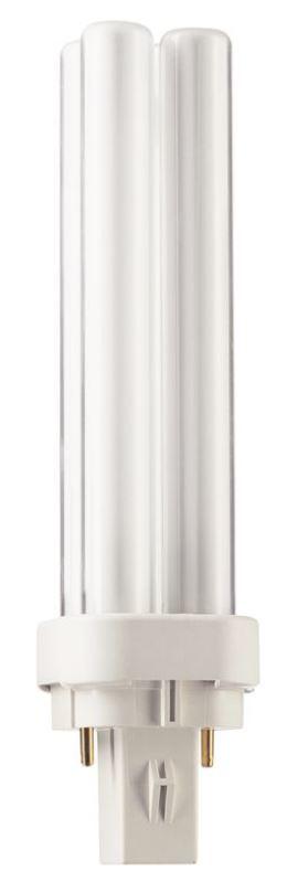 Świetlówka kompaktowa Philips PL-C G24d-2 18W (871150062091070) 1